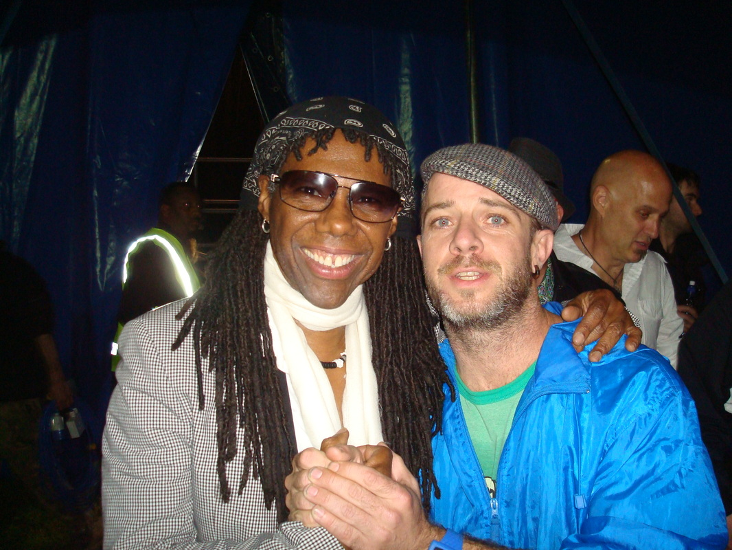 Me and Nile Rodgers